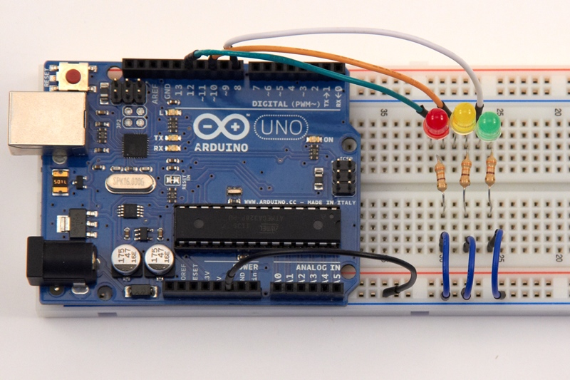 Arduino and ir obstacle sensor