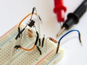 Hand-soldered LD1117 VReg